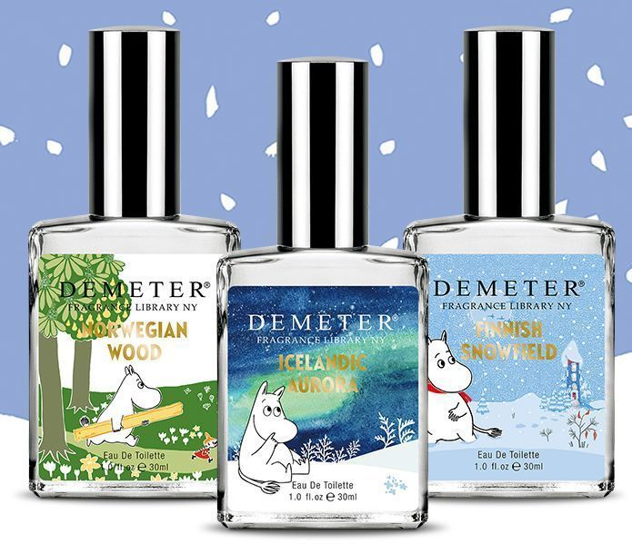 Demeter Nordic Limited Edition & Moomin Eau De Toilette 30ml