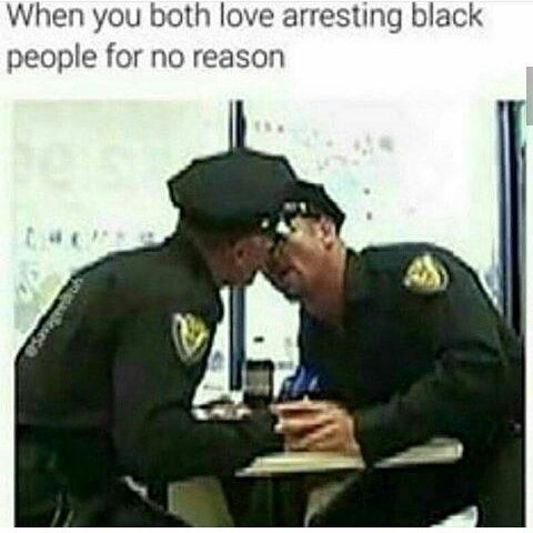 No more memes for a minute..  #police #love #blackpeople
