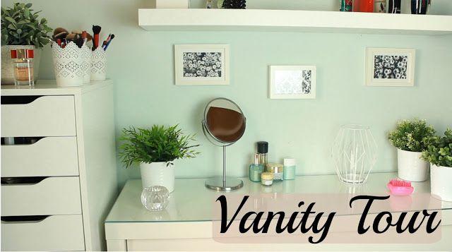 Kate Tzoe: Vanity Tour Make Up Collection & Storage   part 1 ...