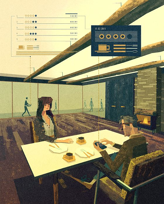 Matthew LyonsVintage Illustrations, Futuristic Architecture, Ikea Showroom, Digital Art, New York Time, Matthewlyon, Retro Style, Matthew Lyon, Retro Vintage