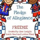 Everyday in our classrooms students are reciting the Pledge of Allegiance, but do they understand the words they are saying? This product includes ...