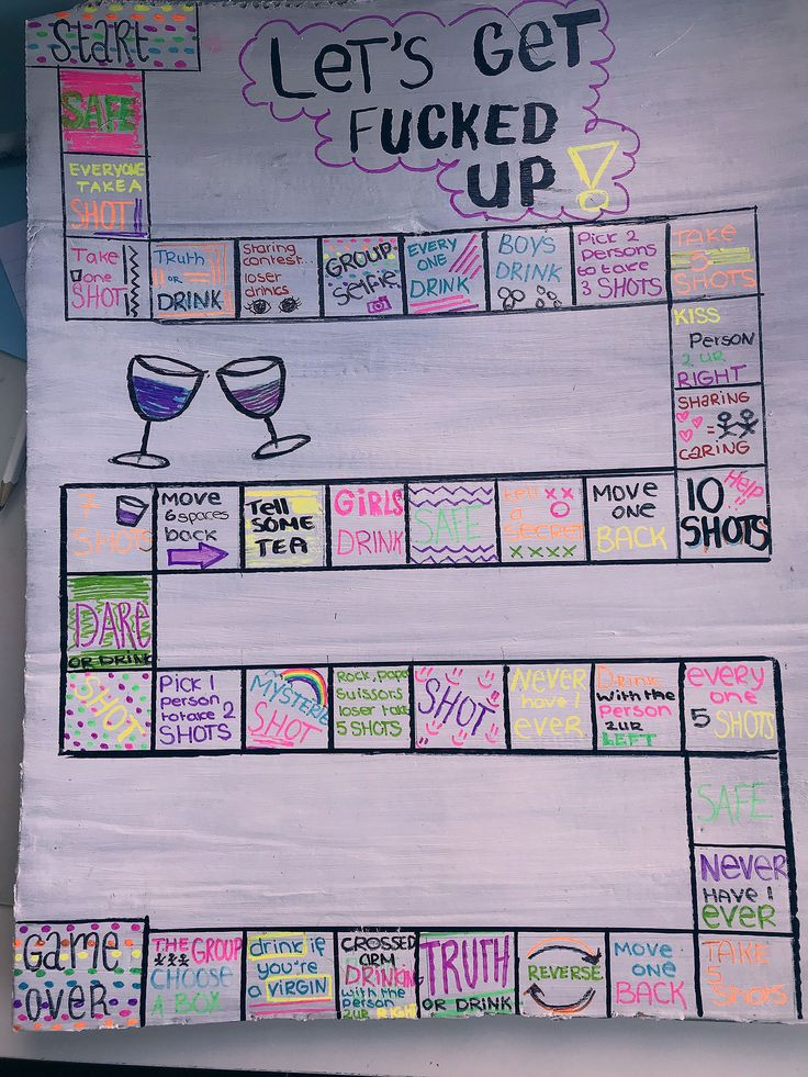 Party Games Drinking - Früchte im Garten Drinking board game Category: Sleepover Party Games, Diy Party Games, Adult Party Games, Diy Games, Game Party, Party Party, College Party Games, Usa Party, Party Rules