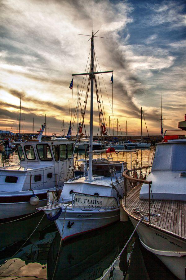 Port, Heraklion, Island Of Crete, Greece