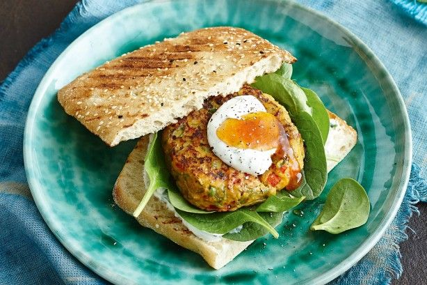 Looking for a vegetarian option for the barbecue? Look no further than these Indian-spiced tofu burgers.