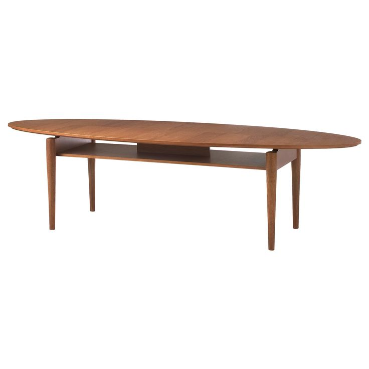 Ikea Mid Century Modern Coffee Table: STOCKHOLM Coffee Table, Walnut Veneer