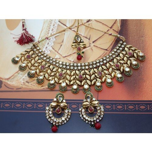 Designer Kundan neck set