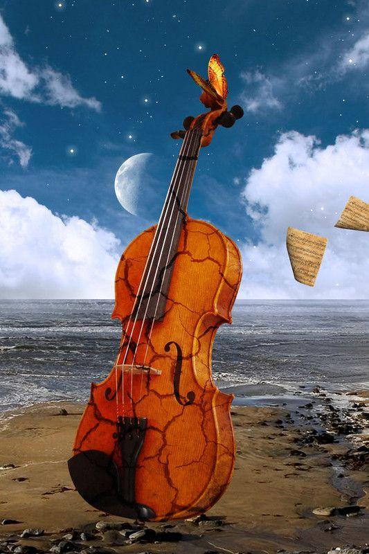 INSOLITE | Musique peinture, Art de violoncelle