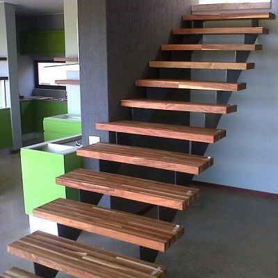 Good Custom Stair Treads In Baleka Kiaat. Baleka Is A Lamination Technique We  Use As Part