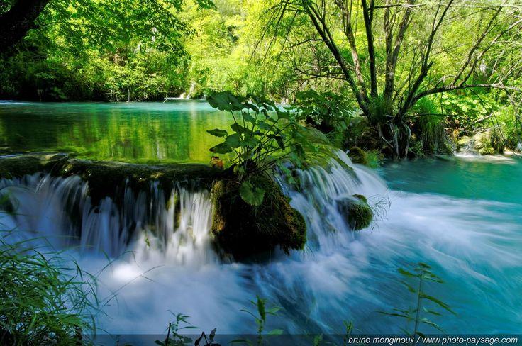 Plitvice lakes and waterfalls, Croatia