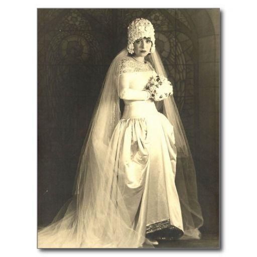 Vintage Bride Postcard | Zazzle.com