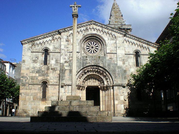 La Colegiata de Santa María. A Coruña