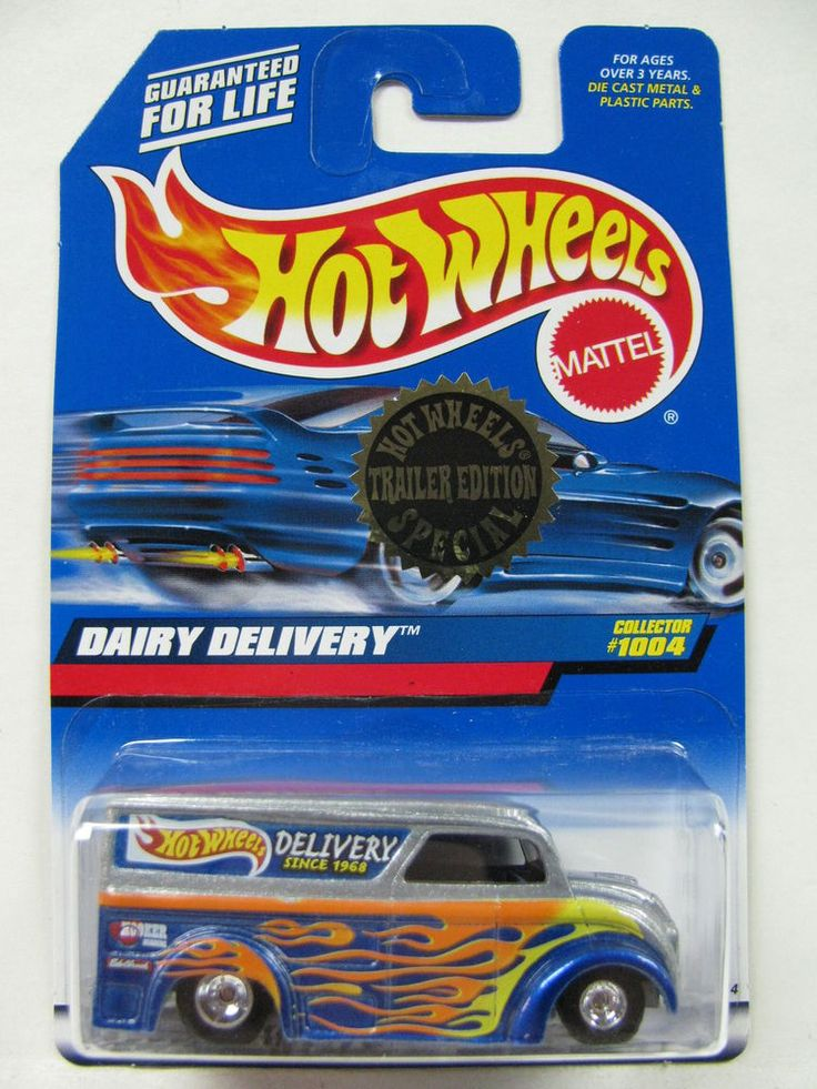 Hot Wheels Dairy Delivery Trailer Edition Buy it Now