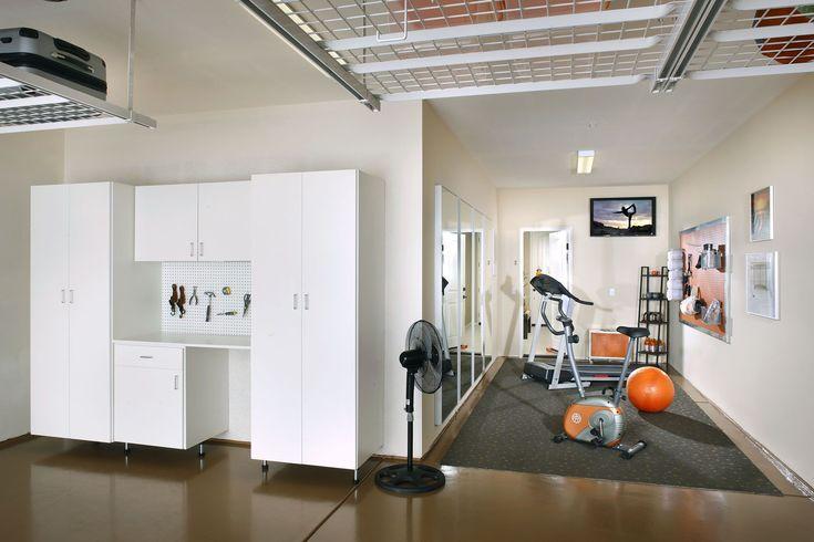 bonus garage gym bonus garage gym in 2020 home gym on cheap diy garage organization ideas to inspire you tips for clearing id=37881