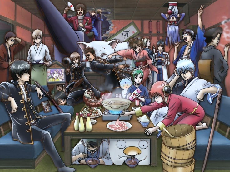 Gintama= Crazy, Nasty, Rondom, Funnier than any thing ull ever see... i think yes!