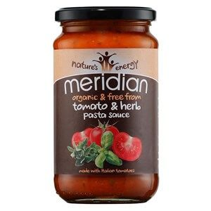 Meridian Organic Tomato & Herb Pasta Sauce