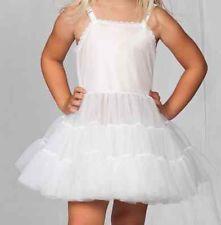 Girls Half Full Slip Adjusts Bouffant Petticoat Crinoline 2T-14 Ruffles Layers