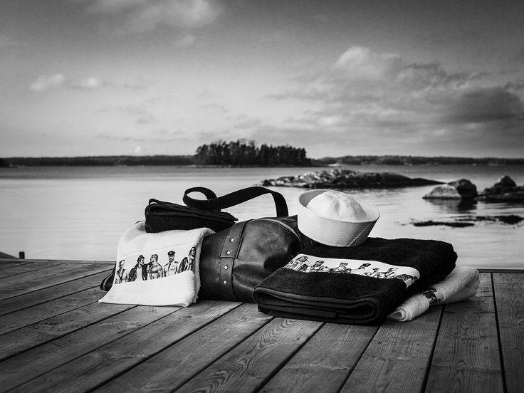 Tom of Finland by Finlayson | Fellows Bath Towel 58,50 €