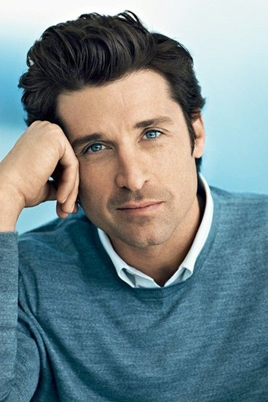 Patrick Dempsey, gorgeous, male actor, beautiful eyes, celeb, hand, portrait, photo