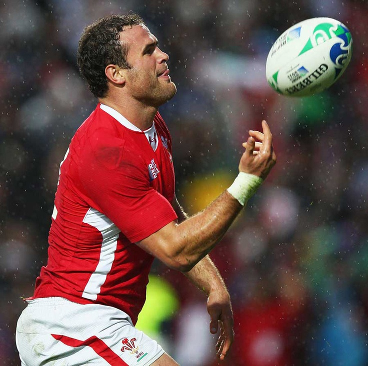Wales - Jamie Roberts... actually fairly sure I could get into rugby