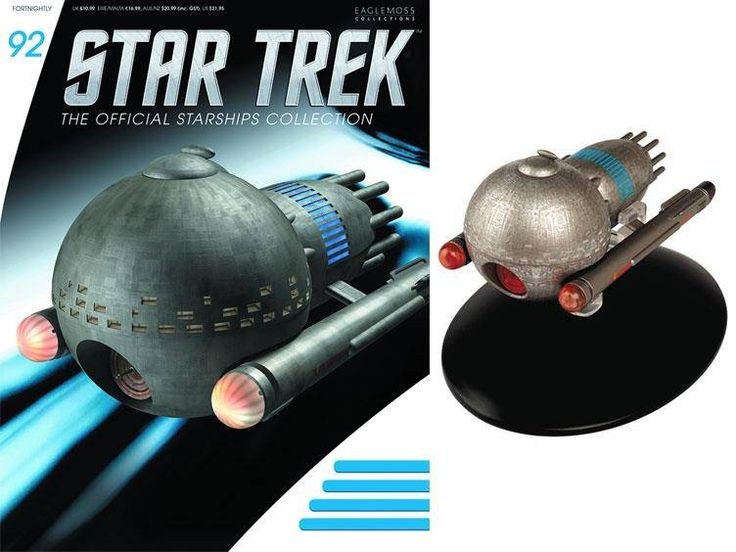 Star Trek Official Starships Collection Magazine with Model #92