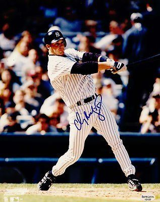 """Clay Bellinger New York Yankees Autographed 8x10 Photo 1999-2001 Angels SL SOA . $15.00. New York Yankees OFClay BellingerHand Signed 8x10""""Color PhotoNew York Yankees (1999-2001)Anaheim Angels (2002)GREAT AUTHENTIC BASEBALL COLLECTIBLE!! .AUTOGRAPH AUTHENTICATED BY SPORTS LOT AUTHENTICATIONS WITH NUMBERED SPORT LOT AUTHENTICATION STICKER ON ITEM.SPORTS LOT SOA: # 13127ITEM PICTURED IS ACTUAL ITEM BUYER WILL RECEIVE."""