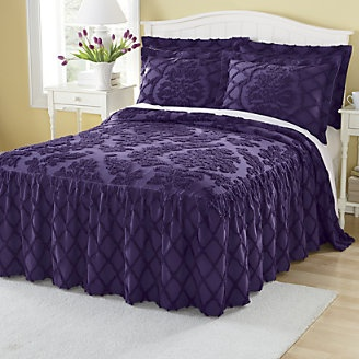 69 Best Chenille Bedding Images On Pinterest Bed Throws