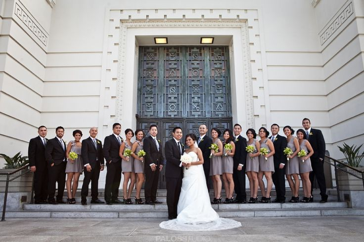 Griffith Observatory Wedding Photos