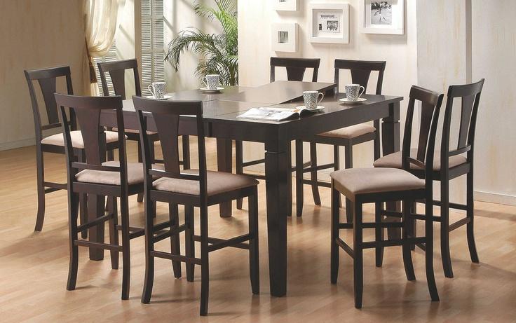 Black Wood Dining Room Set Photos Design Ideas