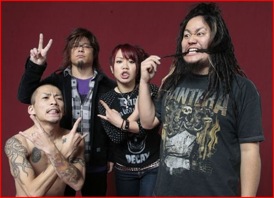 Maximum the hormone - This band is beyond crazy.