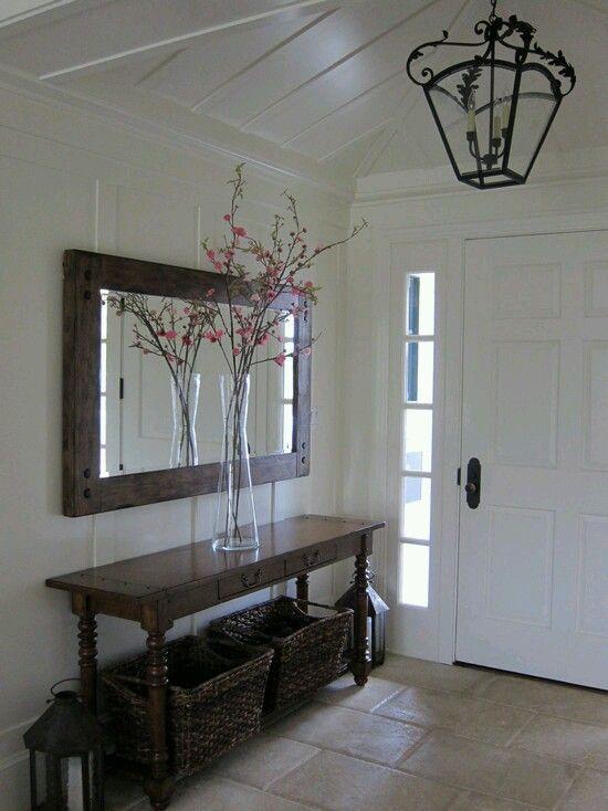 15 pines de pisos rusticos que no te puedes perder pisos for Consolas decoracion hogar