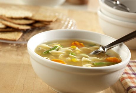 Only five pantry ingredients, plus flavor-packed chicken broth, create a comforting and easy-to-make soup with a surprising depth of flavor for a recipe that's ready in just 25 minutes.
