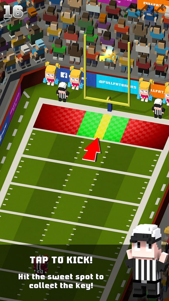 https://flic.kr/p/D2hhXg | Blocky Football - Endless Arcade Runner