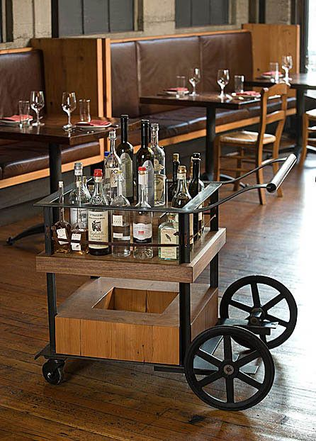 La spiga grappa cart