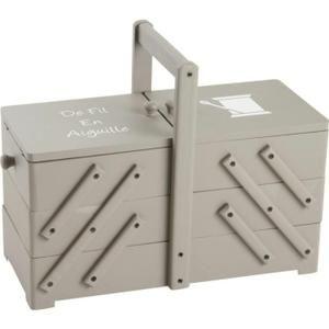 Boîte à couture en bois de fil en aiguille 36x1… - Achat / Vente boite a couture Boîte à couture en bois de … - Cadeaux de Noël Cdiscount