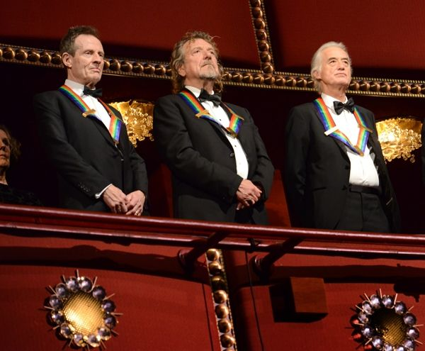 Led Zeppelin Get All-Star Tribute at Kennedy Center Honors | Music News | Rolling Stone  Didn't see that coming 37 years ago when I started listening to Zeppelin.  The best part of this story is what tribute for Led Zeppelin would be complete without Heart playing a classic Zep song Stairway to Heaven to air 12-26-12.  Can't wait for that!!
