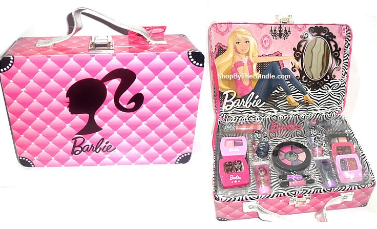 Pics For > Barbie Makeup Kit For Kids