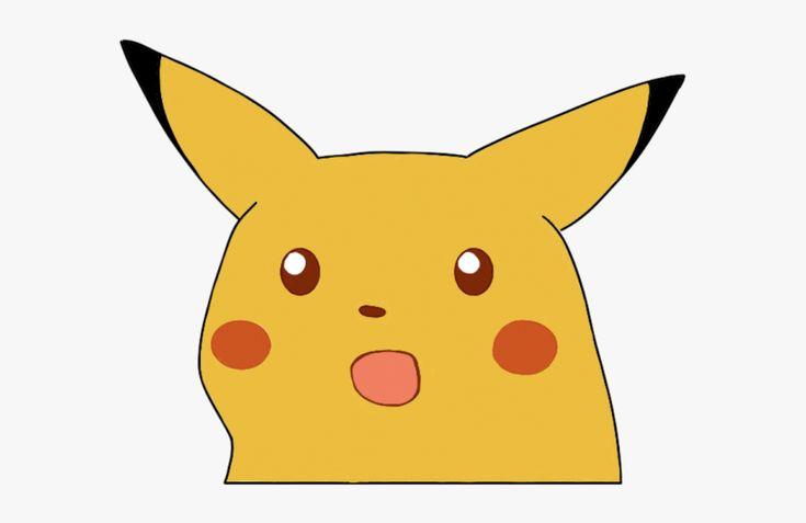 Surprised Pikachu Meme, HD Png Download is free ...