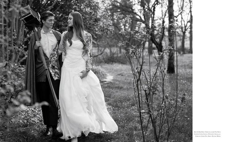 Servizio di Cristina Canovi - Ph. Dino Frittoli #bridal #flower #sposa - www.whitemagazine.it