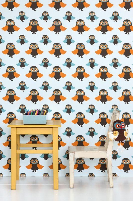 Owl kids wallpaper!