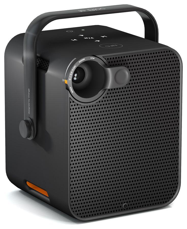 Le Bloc d'Orange : le vidéoprojecteur autonome pour vacanciers mis en vente