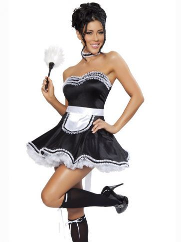 French maid costume
