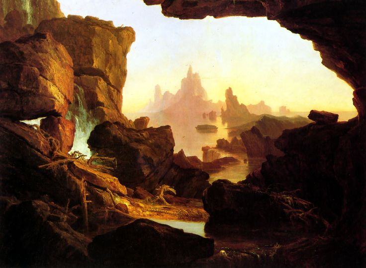 an analysis of thomas cole on landscape painting Thomas cole, born in england, came to america in 1818 and soon was depicting the beauty and majesty of the american landscape.