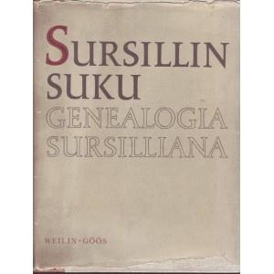 'Sursillin suku' on yksi suomalaisen sukututkimuksen perusteoksista.  Kirjaputiikin valikoimassa on kirjan 1971 ilmestynyt Eero Kojosen täydentämä painos.  Siihen on laajennettu vuoden 1850 painoksen henkilöiden elämänvaiheista kertovia tietoja jopa 1900-luvun puoliväliin saakka.  Kirja käsittelee uumajalaisen talonpojan Erik Ångerman Sursillin jälkeläisiä, joista huomattava osa on asunut Suomessa pappeina ja talonpoikina 1500-luvulta lähtien.