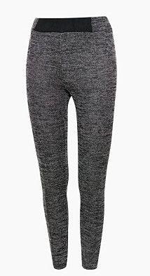 #Esprit Damen Leggings mit Fischgrat-Muster, Gr. S, schwarz, 4059601340844