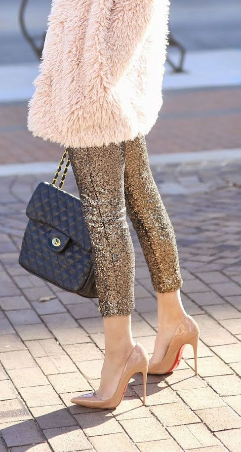 sports clothes uk Sequin pants   the high fashion version of my high school love affair