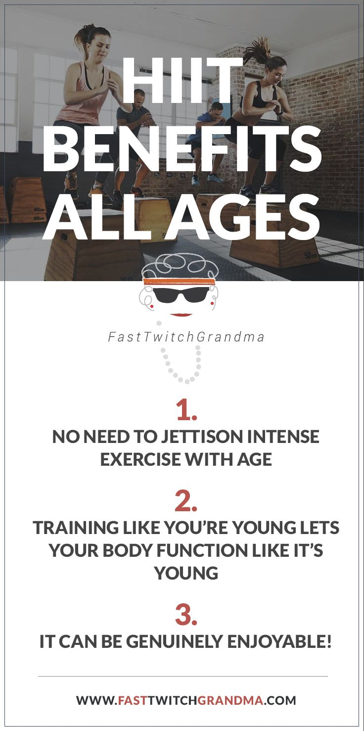 HIIT Benefits All Ages