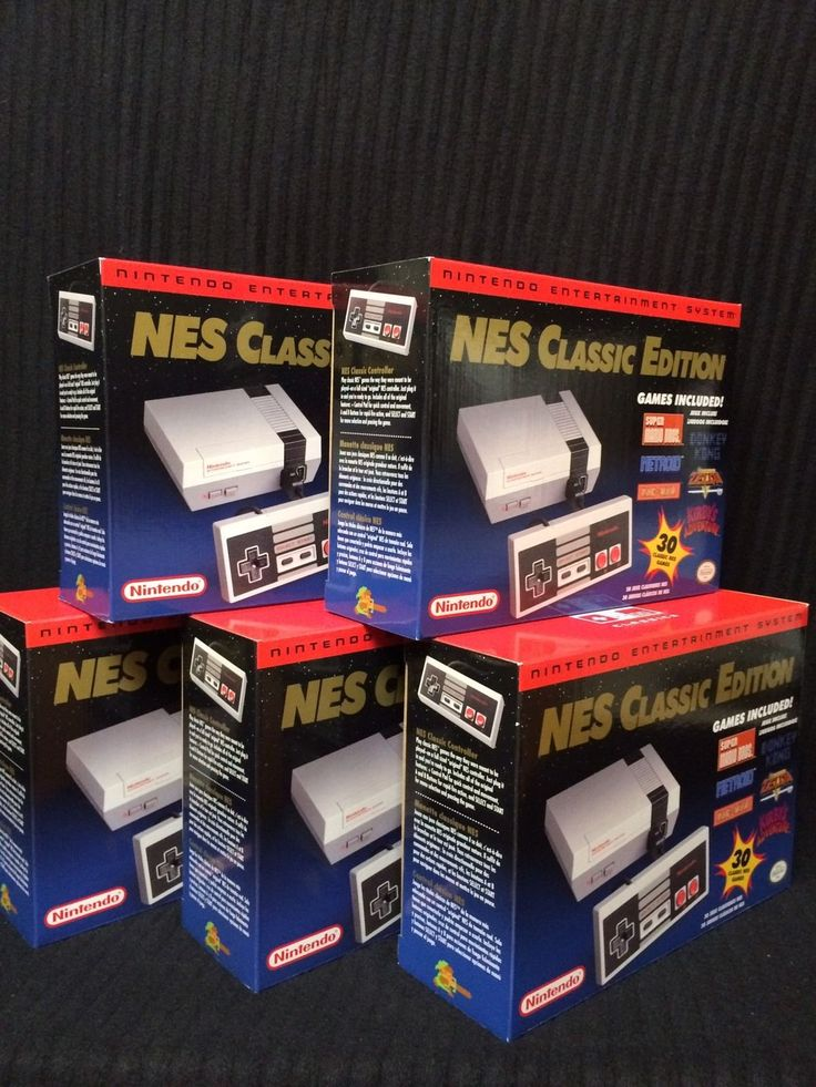 Nintendo Entertainment System: NES Classic Edition  You are buying 1 (one) Nintendo NES Classic Mini Console. Brand new, never opened. 100% guarant... #authentic #brand #console #mini #classic #edition #nintendo