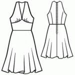Free Halter Dress Pattern- CraftHabit.com