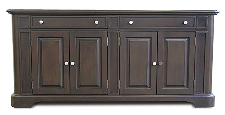 Rushmore Credenza part of Room Service: Eat.   #furniture #furnituredesign #kitchen #diningrooms