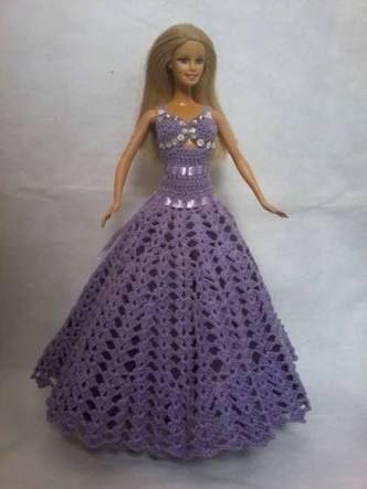 Crochet Pattern Central Barbie Clothes : 798 best images about Crochet--Barbie on Pinterest